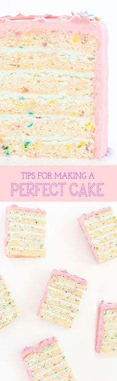 Tips for Making The Perfect Cake | Sprinkles for Breakfast
