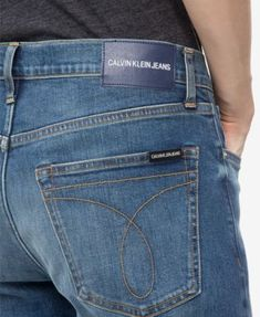 1cf0957ae94e Calvin Klein Jeans Men s Straight-Fit Jeans