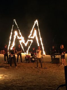 Beach bonfires & music by Maroon 5... A #VSSwimSpecial can't get much better than this. Filmed in Puerto Rico.  Palomino Island at El Conquistador Resort | ElConResort.com