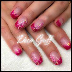 Nails Nailart French Ongle en gel Gel manucure