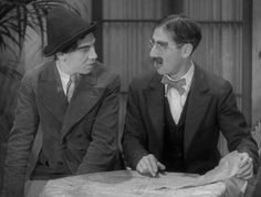 Chico and Groucho