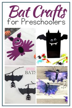 This Halloween, add one or more of these bat crafts for preschoolers to your holiday lesson plans. Your kids will have a hard time choosing one! #batcrafts #halloweencrafts #craftsforpreschoolers #homeschoolprek Preschool Lesson Plans, Preschool Printables, Preschool Crafts, Crafts For 2 Year Olds, Crafts For Kids, Bat Craft, Holidays Around The World, Halloween Bats, Hands On Activities