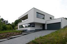 Die 40 Besten Bilder Von Bauhaus Hanglage Modern Homes House