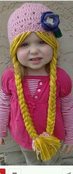 Princess crochet hat