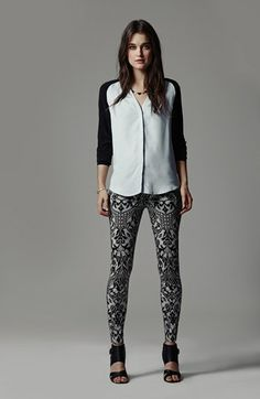 Robbi & Nikki Sweater & 7 For All Mankind® Skinny Jeans  available at #Nordstrom