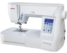 World's Easiest Sewing, Quilting, Embroidery Machines & Sergers Sewing Machine Brands, Sewing Machine Reviews, Sewing Machines, Janome, Sewing Table, Sewing Basics, Free Motion Quilting, Lower Case Letters, Scrappy Quilts