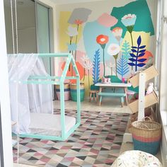 playroom by petite vintage interiors