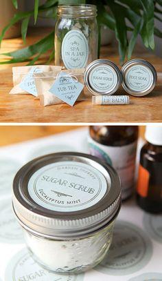 Spa in a Jar   DIY Christmas Gifts in a Jar Ideas   DIY Last Minute Christmas Gifts