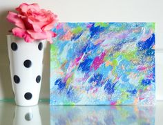 Original Acrylic Painting, Wall Art, Home Decor, One of a Kind, Abstract Painting, Canvas Painting, Gallery Wall Painting, Pretty Painting