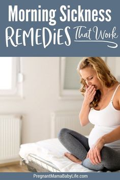 Morning sickness remedies that work. How to deal with nausea during pregnancy naturally and easily. The tried and true methods that will help relieve your morning sickness. Pregnancy Timeline, Pregnancy Advice, Pregnancy Signs, Pregnancy Health, First Pregnancy, Pregnancy Workout, Pregnancy Foods, Pregnancy Problems, Early Pregnancy
