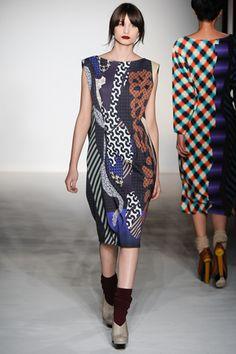 Fabulous geometric prints - Basso & Brooke Fall Collection 2012