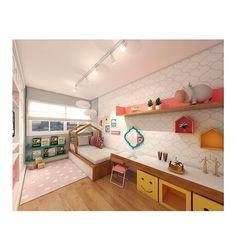 um quarto de contos de fadas! 😍😱 peças da nossa loja no projeto em 3D do arquiteto @arthurfalcao_arq