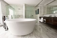marble floor bathroom - Google Search