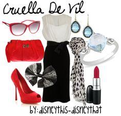 """Cruella De Vil""  DisneyThis-DisneyThat on Tumblr"