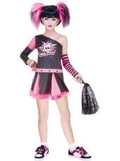 girls gothic cheerleader costume party city