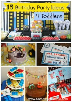 15 Birthday Party Ideas for Toddlers
