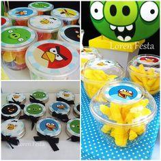 Festa Angry Birds. Loren Festa