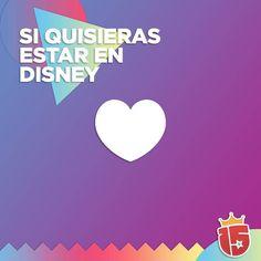 Pone  si quisieras estar en #Disney con #enjoy15