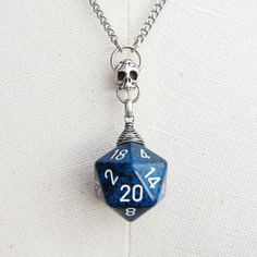 Mystic Mana Forge (Dungeons and Dragons D20 Necklace) By: MortivoreiuM