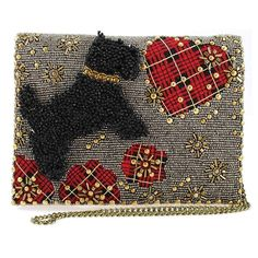 Shop a great selection of Mary Frances Love Beaded Scottie Dog Plaid Heart Crossbody Clutch. Find new offer and Similar products for Mary Frances Love Beaded Scottie Dog Plaid Heart Crossbody Clutch. Mary Frances Purses, Mary Frances Handbags, France Love, Beaded Purses, Beaded Bags, Crossbody Clutch, Scottie Dog, Shoulder Handbags, Plaid