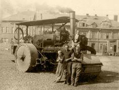 Muzeum starých strojů - Parní válce