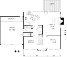 House Plan chp-17833 at COOLhouseplans.com 1998SF 4 brs