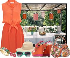 """Garden Party"" by daisy1980 ❤ liked on Polyvore"
