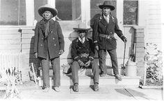 Ermineskin, Charles Rabbit, Joe Samson - Cree - circa 1920