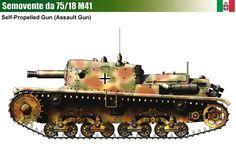 Semovente M41 da 75/18 Assault Gun