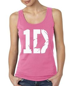 1 D Tank Top Shirts in Women's Junior Sizes In Pink (2x) Southern Designs http://www.amazon.com/dp/B00J49SZM8/ref=cm_sw_r_pi_dp_Gcw5ub1S6MQA3