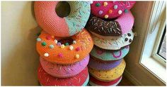 Crochet Donut Pillows Are The Stuff 'Sweet' Dreams Are Made Of