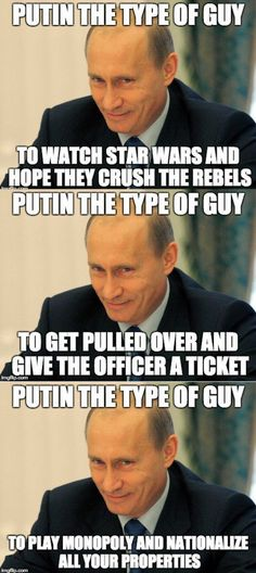 Introducing the Putin Meme