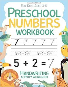 Preschool Numbers Workbook Handwriting Activity Workbook for kids Ages 3-5: Workbook 8, 5x11 inches: Publishing, Carrizales: 9798662887626: Amazon.com: Books Handwriting Activities, Cute Journals, Numbers Preschool, Age 3, Amazon, Books, Kids, Young Children, Libros