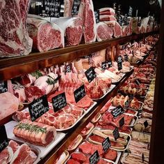 Send me a job application for this butcher shop immediately! just look at the wagyu cuts up to. Butcher Store, Meat Butcher, Wow Restaurant, Burger Restaurant, Carne Asada, Carnicerias Ideas, Meat Art, Deli Shop, Meat Store