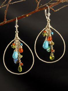 Anjali Hoop Earrings