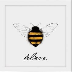 100 Painting, Art and Drawing Ideas - Malerei - Kunst Mini Toile, Bee Quotes, Bee Images, I Love Bees, Bee Cards, Bee Tattoo, Bee Design, Bee Theme, Bee Happy