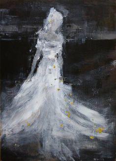 "Saatchi Art Artist OSCAR ALVAREZ; Painting, ""White memory"" #art"