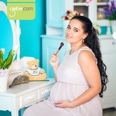 Hamilelik sırasında kullanılan makyaj malzemelerinin doğal olmasına dikkat edilmelidir.