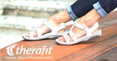 Show off your style - and be comfortable all day. Accomplished in the same pair of shoes. #plantarfasciitis