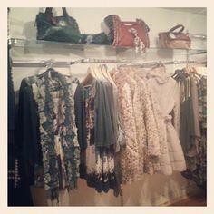 #visualmerchandising #fashion #clothes #boutique #yolofashionhouse #athy #green #cream #beige #handbag