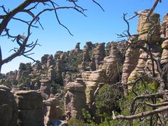 Chiricahua National Monument a favorite southern Arizona destination gets fewer visitations than some of the other national parks in Arizona