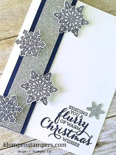 Klompen Stampers (Stampin' Up! Demonstrator Jackie Bolhuis): New Sketch & 2 Fun Card Ideas | Flurry of Wishes