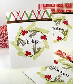 Christmas Thank You Cards  HttpsWwwEtsyComListing