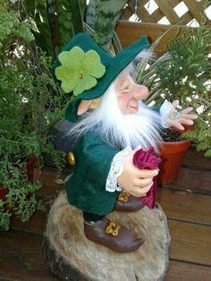 Leprechaun, Gnomes, Fairies, Garden Sculpture, Outdoor Decor, Elves, Faeries, Fairy, Elf