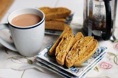 Whole-Wheat Pumpkin Walnut Biscotti