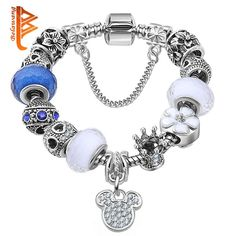 """Stunning 925 Sterling Silver Bead Link 7/"""" Ladies Chain Bracelet 6.3g Gift Boxed"""