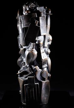 Sculpture Pierre Dinand réalisation Pierre Blandin Bronze Alain Brieu