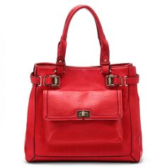 Sole Society Mirren Large Shopper - Red-One Size from Sole Society on Catalog Spree