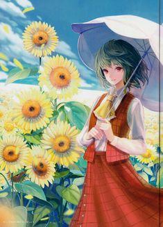 Anime Summer, Anime Girl Cute, Manga, Artist, Paint, Manga Anime, Artists, Manga Comics, Manga Art