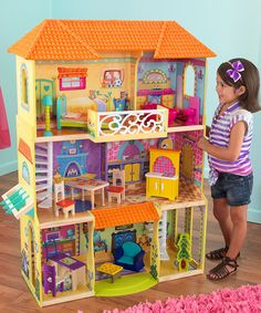 Take a look at this Dora the Explorer Dollhouse by KidKraft on #zulily today!